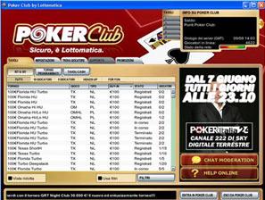 5280 poker club lottomatica servizio